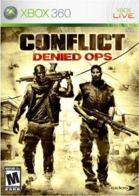Copertina del gioco Conflict: Denied Ops per Xbox 360