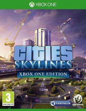 Copertina del gioco Cities: Skylines per Xbox One