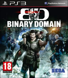 Copertina del gioco Binary Domain per PlayStation 3