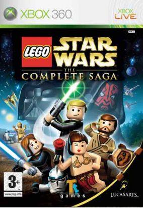 Copertina del gioco LEGO Star Wars: La saga completa per Xbox 360