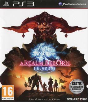 Copertina del gioco Final Fantasy XIV: A Realm Reborn per PlayStation 3