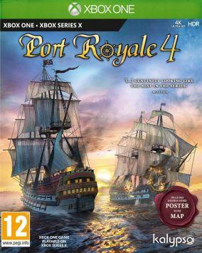 Copertina del gioco Port Royale 4 per Xbox One