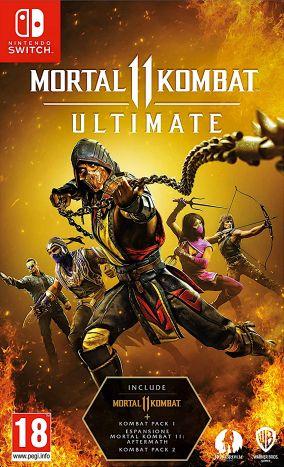 Copertina del gioco Mortal Kombat 11 Ultimate per Nintendo Switch
