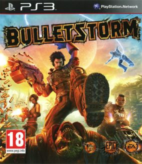 Copertina del gioco Bulletstorm per PlayStation 3