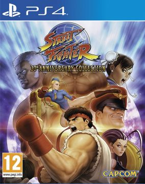 Copertina del gioco Street Fighter 30th Anniversary Collection per PlayStation 4