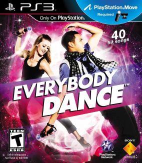 Copertina del gioco Everybody Dance per PlayStation 3
