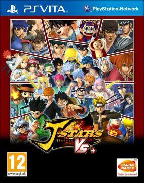 Copertina del gioco J-STARS Victory VS+ per PSVITA
