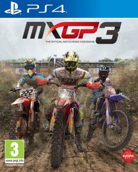 Immagine della copertina del gioco MXGP 3: The Official Motocross Videogame per Playstation 4