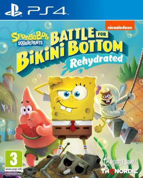 Immagine della copertina del gioco Spongebob SquarePants: Battle for Bikini Bottom - Rehydrated per PlayStation 4
