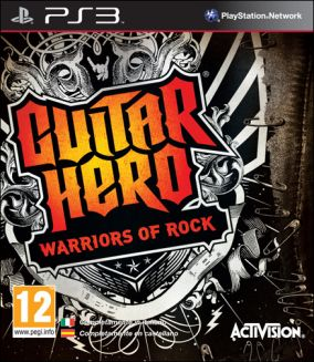 Copertina del gioco Guitar Hero: Warriors of Rock per PlayStation 3