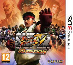 Immagine della copertina del gioco Super Street Fighter IV 3D Edition per Nintendo 3DS