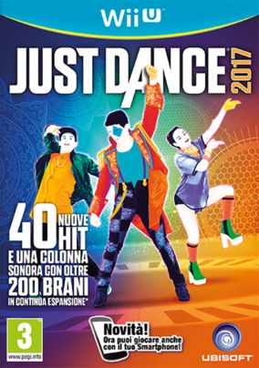 Copertina del gioco Just Dance 2017 per Nintendo Wii U