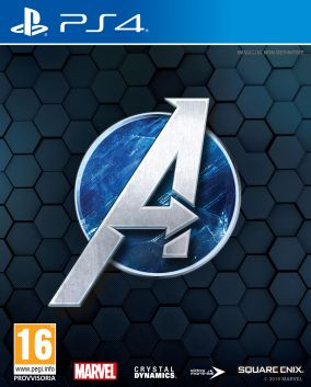 Copertina del gioco Marvel's Avengers per PlayStation 4
