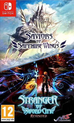 Copertina del gioco Saviors of Sapphire Wings per Nintendo Switch