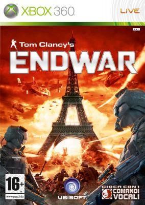 Immagine della copertina del gioco Tom Clancy's EndWar per Xbox 360
