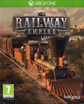 Copertina del gioco Railway Empire per Xbox One