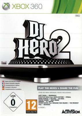 Immagine della copertina del gioco DJ Hero 2 per Xbox 360
