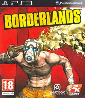 Copertina del gioco Borderlands per PlayStation 3