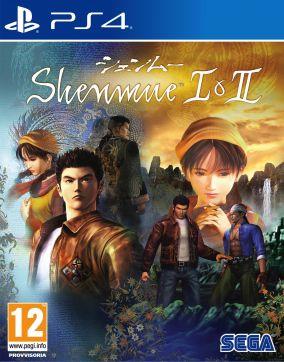 Copertina del gioco Shenmue I e II per Playstation 4