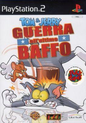 Immagine della copertina del gioco Tom & Jerry Guerra all'ultimo baffo per PlayStation 2