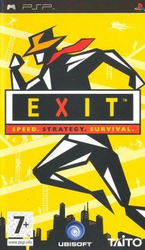 Immagine della copertina del gioco Exit per PlayStation PSP