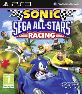 Immagine della copertina del gioco Sonic & Sega All star racing per PlayStation 3