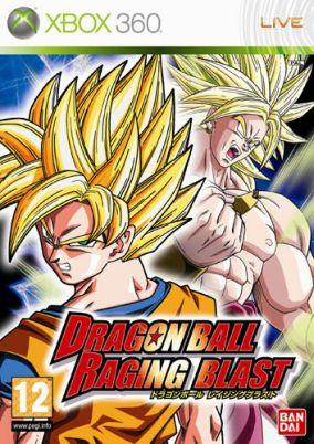 Copertina del gioco Dragon Ball: Raging Blast per Xbox 360