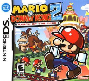 Immagine della copertina del gioco Mario Vs Donkey Kong 2: March of the Minis per Nintendo DS