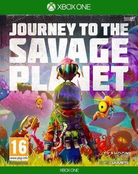 Copertina del gioco Journey to the Savage Planet per Xbox One