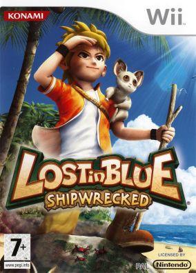 Immagine della copertina del gioco Lost In Blue: Shipwrecked per Nintendo Wii