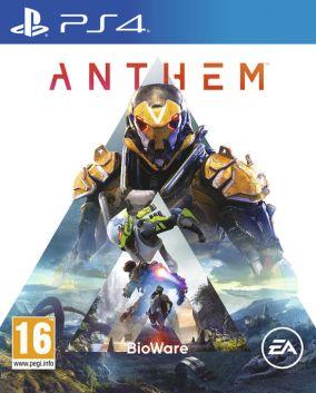 Immagine della copertina del gioco Anthem per PlayStation 4