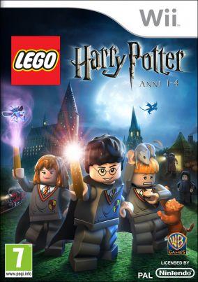 Immagine della copertina del gioco LEGO Harry Potter: Anni 1-4 per Nintendo Wii