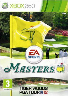 Copertina del gioco Tiger Woods PGA Tour 12: The Masters per Xbox 360