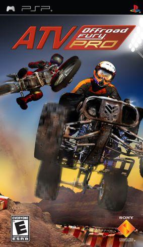 Immagine della copertina del gioco ATV Offroad Fury PRO per PlayStation PSP