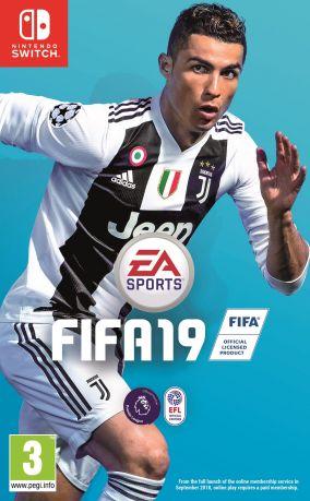 Immagine della copertina del gioco FIFA 19 per Nintendo Switch
