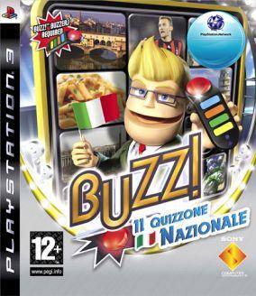 Copertina del gioco Buzz! Il Quizzone Nazionale per PlayStation 3