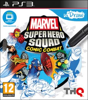 Copertina del gioco Marvel Super Hero Squad: Comic Combat - uDraw per PlayStation 3