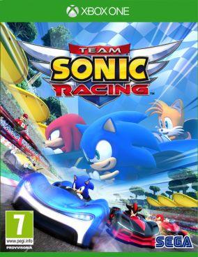 Copertina del gioco Team Sonic Racing per Xbox One
