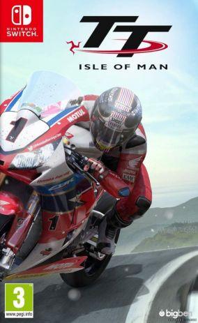 Copertina del gioco TT Isle of Man per Nintendo Switch