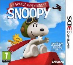 Copertina del gioco La Grande Avventura di Snoopy per Nintendo 3DS