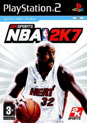 Copertina del gioco NBA 2K7 per PlayStation 2