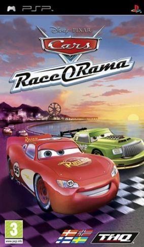 Immagine della copertina del gioco Cars Race-O-Rama per PlayStation PSP