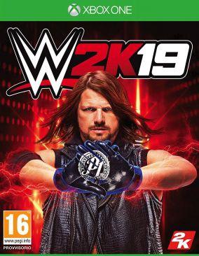 Immagine della copertina del gioco WWE 2K19 per Xbox One