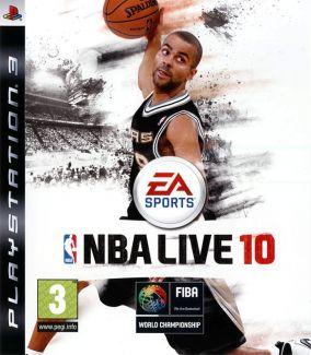 Immagine della copertina del gioco NBA Live 10 per PlayStation 3