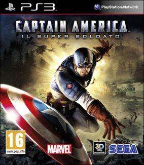 Copertina del gioco Captain America: Il Super Soldato per PlayStation 3