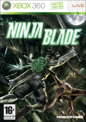 Copertina del gioco Ninja Blade per Xbox 360