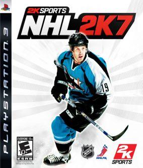 Immagine della copertina del gioco NHL 2K7 per PlayStation 3