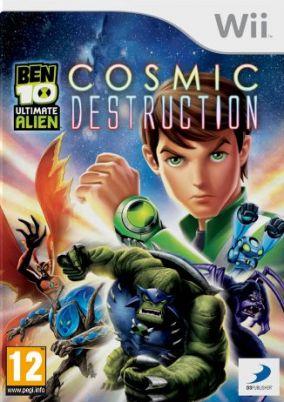 Immagine della copertina del gioco Ben 10: Ultimate Alien: Cosmic Destruction per Nintendo Wii