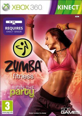 Copertina del gioco Zumba Fitness per Xbox 360