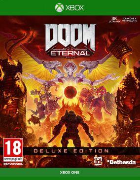 Immagine della copertina del gioco DOOM Eternal per Xbox One